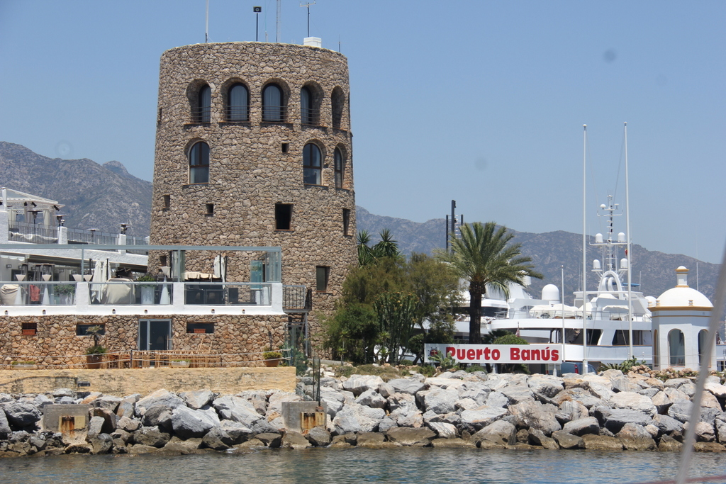 Entrance to Puerto  Banús!