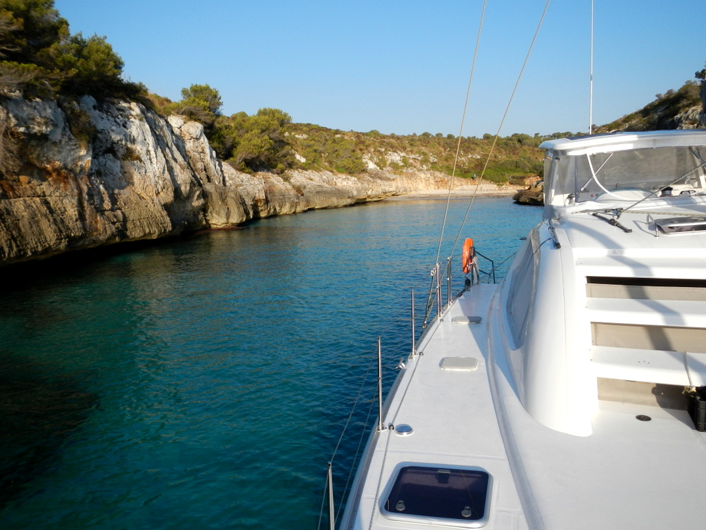 Cala Magraner ... the best place for a quick skinny-dip