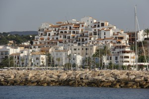 Lovely development above the Moraira Marina