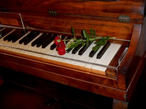 The original piano of Chopin