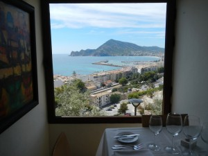 "A stunning view from the ""Dels Artistes Restaurante"""