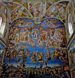 Michelangelo's 'The Last Judgment' at the Sistine Chapel