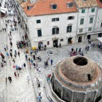The town square of Old Town Dubrovnik