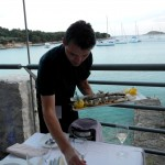 Great fish and most professional waiter we had in Croatia! He knows his fish!