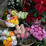 Fresh flowers at the most impressive markets of fresh produce