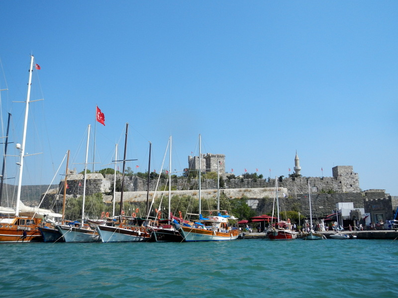 Bodrum ... with its landmark - the Castle of The Knights of St John