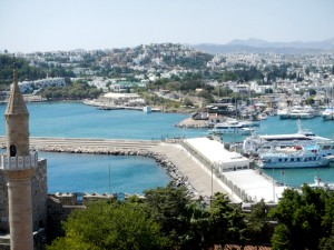 View from the Castle over Bodrum marina