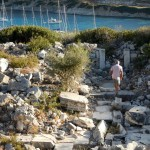 Knidos the ancient city - devastated by an earthquake