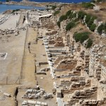 The Market / Agora of ancient Knidos