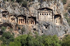 The Lycian Rock Tombs of the Kings of Caunos